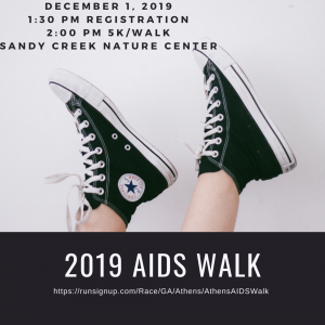 AIDS Walk 2019 - Coupon Code (1)